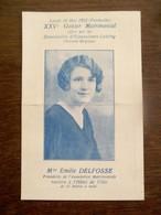 Kaart  25 Ste .     GOUTER   MATRIMONIAL         1932 Henegouwen  BEAUMONT --- HAINAUT - Beaumont