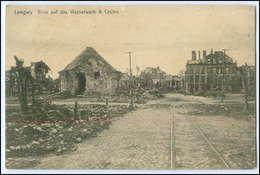 Y2841/ Longwy Wasserwerk + Casino  1. Weltkrieg AK France Frankreich Feldpost  - Guerre 1914-18