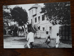 L14/8 Dahomey. Porto Novo. Inspection De L'enseignement - Dahomey
