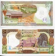 Syria - 50 Pounds 1998 UNC - Syrie