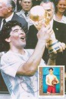Mexico 1986 Mexico FIFA World Cup Football Maxicard (G93-22) - Fußball-Weltmeisterschaft