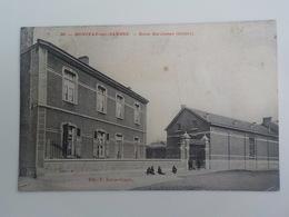 1912 CP Monceau-sur-Sambre N° 30 Ecole Gardienne Centre Edit F. Delrot-Crepin - Charleroi
