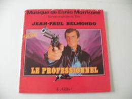 Musique Du Film Le Professionnel -(Titres Sur Photos)- Vinyle 33 T LP Jean Paul Belmondo,musique Ennio Morricone - Filmmusik