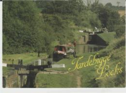 Postcard - Tardebigge Flight Of 36 Lockes - Worcester And Birmingham Canal  - Used Has 13p Stamp But Never Posted VG - Postcards