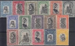 PORTUGAL 1928 Nº 491/506 USADO - 1910-... République