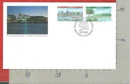 "FDC CANADA - 1992 - International Youth Stamp Exhibition ""CANADA 92"" - Montreal, Canada - Set 2 - 1992 - 03 - 25 - Primi Giorni (FDC)"
