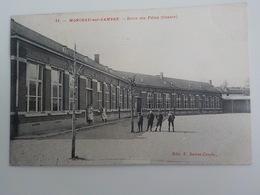 1912 CP Monceau-sur-Sambre N° 31 Ecole Des Filles Centre Edit F. Delrot-Crepin - Charleroi