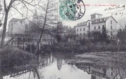 77 - Seine Et Marne -  GUERARD - L Eglise  Et Le Moulin - France