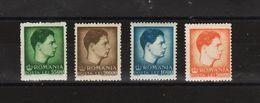 1947 - ROI  MICHEL  Mi No 1033/1036  MNH - Nuovi