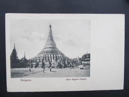 AK MYANMAR Burma Rangoon Rangun 1900 ///  D*36653 - Myanmar (Burma)