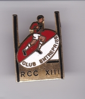 Pin's RUGBY RCC XIII - Rugby
