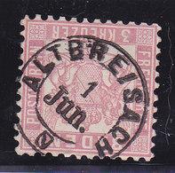 Baden, N°17, Oblitéré ALTBREISACH, Cote 5€ ( W1911/005) - Bade