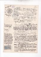 MARSEILLE 1909 / BULLETIN D OPPOSITION SUR TITRES AU PORTEUR / CANAL DE SUEZ / TIMBRE COPIE - Navigation