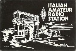"""2499 """" ITALIAN AMATEUR RADIO STATION """" CART.ORIG.SPED. - Radio Amatoriale"""