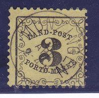 Baden,Taxe N°2, Oblitéré MUNZINGEN, Cote 150€ ( W1911/007) - Baden