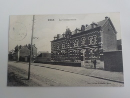 1912 CP Roux La Gendarmerie Imp Lucien Gonsette - Charleroi