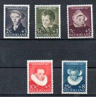 Pays Bas / Série N 661 à 665 / NEUFS Avec Charnières - 1949-1980 (Juliana)