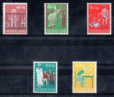 Pays Bas / Série N 712 à 716 / NEUFS Avec Charnières - 1949-1980 (Juliana)