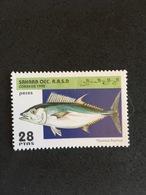 SAHARA OCC. 1995.  MNH (C2406E) - Fishes