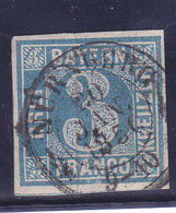 BAYERN, N°2, Oblitéré NURNBERG, Cote 5€ ( W1911/010) - Bavaria