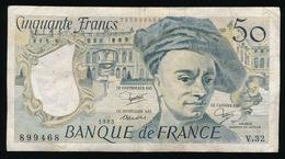 CINQUANTE FRANCS 1983     _ 2 SCANS - 1962-1997 ''Francs''
