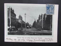 AK MELBOURNE Collins Street From Treasury Ca.1910  ///  D*36664 - Melbourne