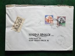 (15852) STORIA POSTALE ITALIA 1985 - 1981-90: Storia Postale