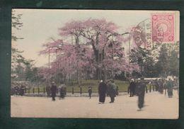CPA (Asie) Japon - Kobé Circulé Le 10 Decembre 1910 - Griffe 2 Lignes Via Siberia/ PerTsuruga - Kobe