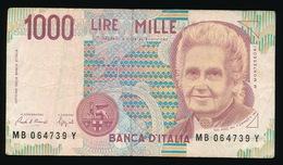 1000 LIRE 1990 _ 2 SCANS - [ 2] 1946-… : République