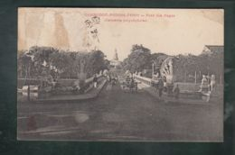 CPA (Asie) Cambodge -  Phnom-Penh  -  Pont Des Nagas - Serpents Polycéphales - Cambodia