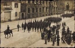Photo Cp Speyer Am Oberrhein Rheinland Pfalz, Besatzungstruppen In Der Stadt, Militärparade - Allemagne