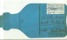 "2502 ""DA FOSSANO A SAN CARLO CANAVESE-13/1/1974 "" CART.ORIG.SPED. - Radio Amatoriale"