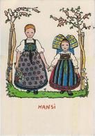 JEUNES FILLES   ALSACIENNE  ILLUSTRATEUR  HANSI - Hansi