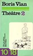 Theatre 2 Boris Vian +++BE+++ PORT GRATUIT - Théâtre