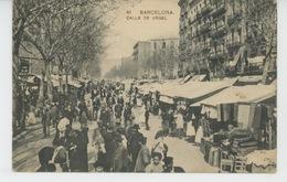 ESPAGNE - BARCELONA - Calle De Urgel - Barcelona