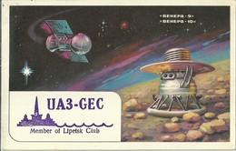 "2503 "" FROM UA3-GEC-MEMBER OF LIPETSK CLUB TO RADIO F6GAZ - 1980"" CART.ORIG.SPED. - Radio Amatoriale"