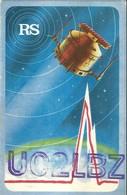 "2504 "" FROM UC2LBZ TO RADIO F6GAZ - 1983"" CART.ORIG.SPED. - Radio Amatoriale"