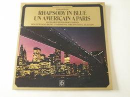Un Américain à Paris -(Titres Sur Photos)- Vinyle 33 T LP Rhapsody In Blue - Filmmusik