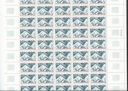 Feuille Complète Du N°3044 Centre Georges Pompidou - Feuilles Complètes