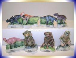 Dinosaures ... 8 Fèves  ...Ref AFF  26-2001 .. (pan 0039) - Disney