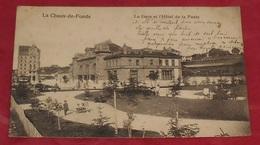 La Chaux De Fonds - La Gare Et L'Hôtel De La Poste :::: Animation  --------------- 486 - NE Neuchâtel