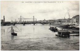 44 NANTES - La Loire Au Pont Haudaudine - Nantes