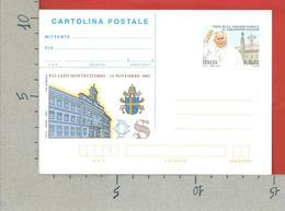 ITALIA REPUBBLICA CARTOLINA POSTALE MNH - 2002 - Visita Del Papa Al Parlamento Italiano - € 0,41 - CP--- - 6. 1946-.. Repubblica