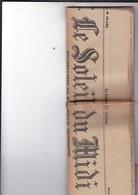 MARSEILLE / JOURNAL LE SOLEIL DU MIDI / 10 JANVIER 1914 - Kranten