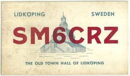 "2507 "" FROM SM6CRZ-SWEDEN TO RADIO I1JTT - 1975"" CART.ORIG.SPED. - Radio Amatoriale"