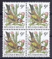 BELGIE * Buzin * Nr 2190 * Postfris Xx * WIT  PAPIER - GRIJZE GOM - 1985-.. Oiseaux (Buzin)
