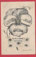Mechelen / Malines ... Meilleure Pensée De ..postkaart 3 Keer Bekeken - 1906 ( Verso Zien ) - Malines