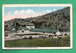 Etats Unis Va Virginia Homestead Dairyand Herd Hot Springs - Autres