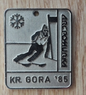 Medal Skiing Kranjska Gora 1985 ABC Pomurka  Slovenia Ex Yugoslavia - Winter Sports
