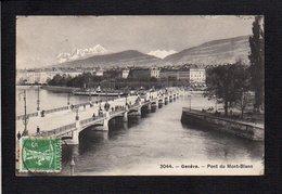 Suisse / Genève / Pont Du Mont Blanc - GE Genève